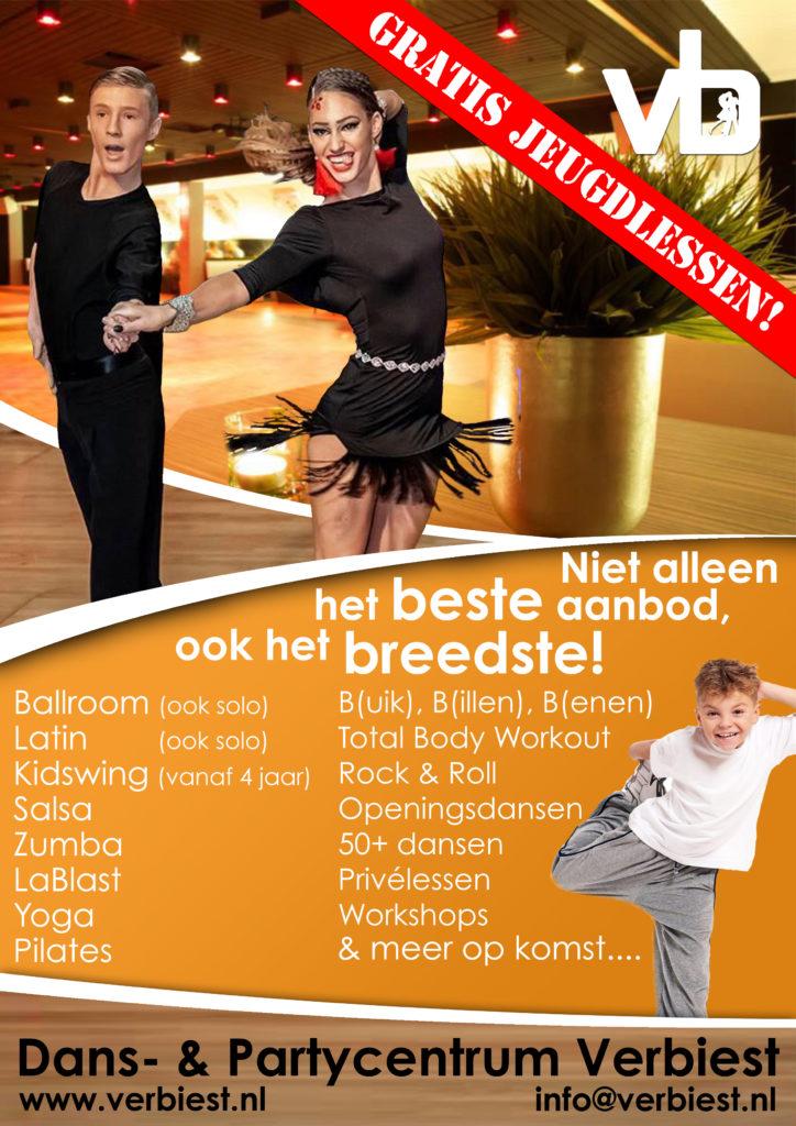 Groot gratis dansproject voor jeugd!