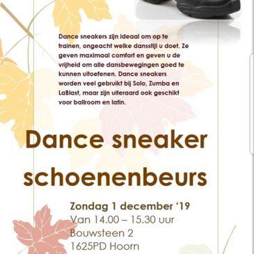 Dance sneaker schoenenbeurs